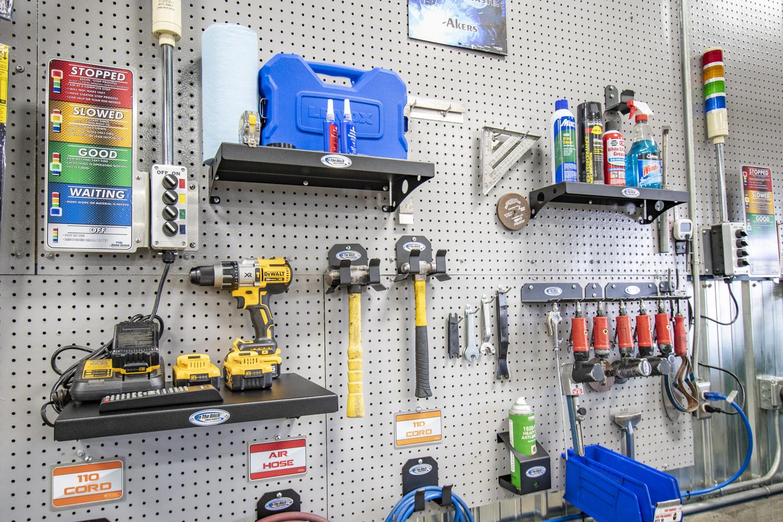 268 In The Ditch Garage Pegboard Shelf 6x16 ITD1831