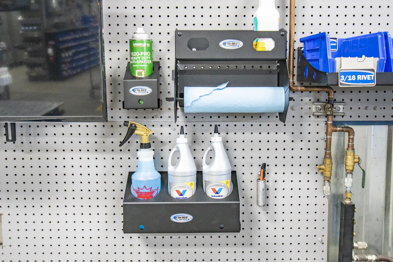 571 In The Ditch Garage Spray Bottles Gear Lube Mount 3 Bottle ITD1806