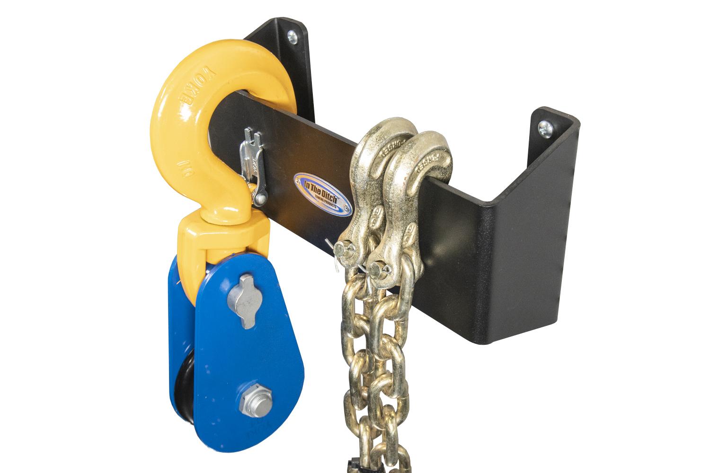 592 In The Ditch Garage Snatchblock Chain Holder 12in ITD1880