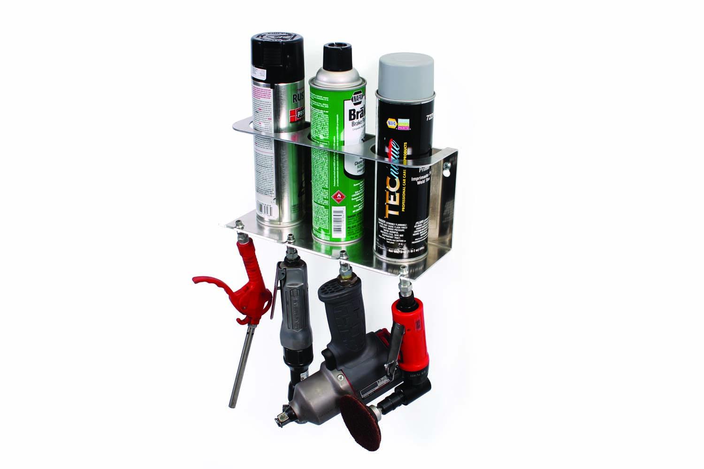 ITD1300 Air Tool Holder 3 Can Serosol Rack Combo1
