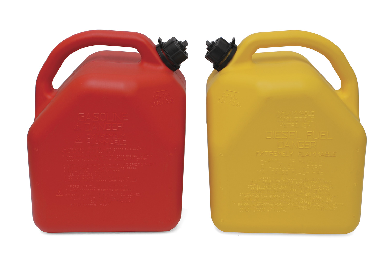 ITD7042 yellow CARB Compliant Fuel Can 1